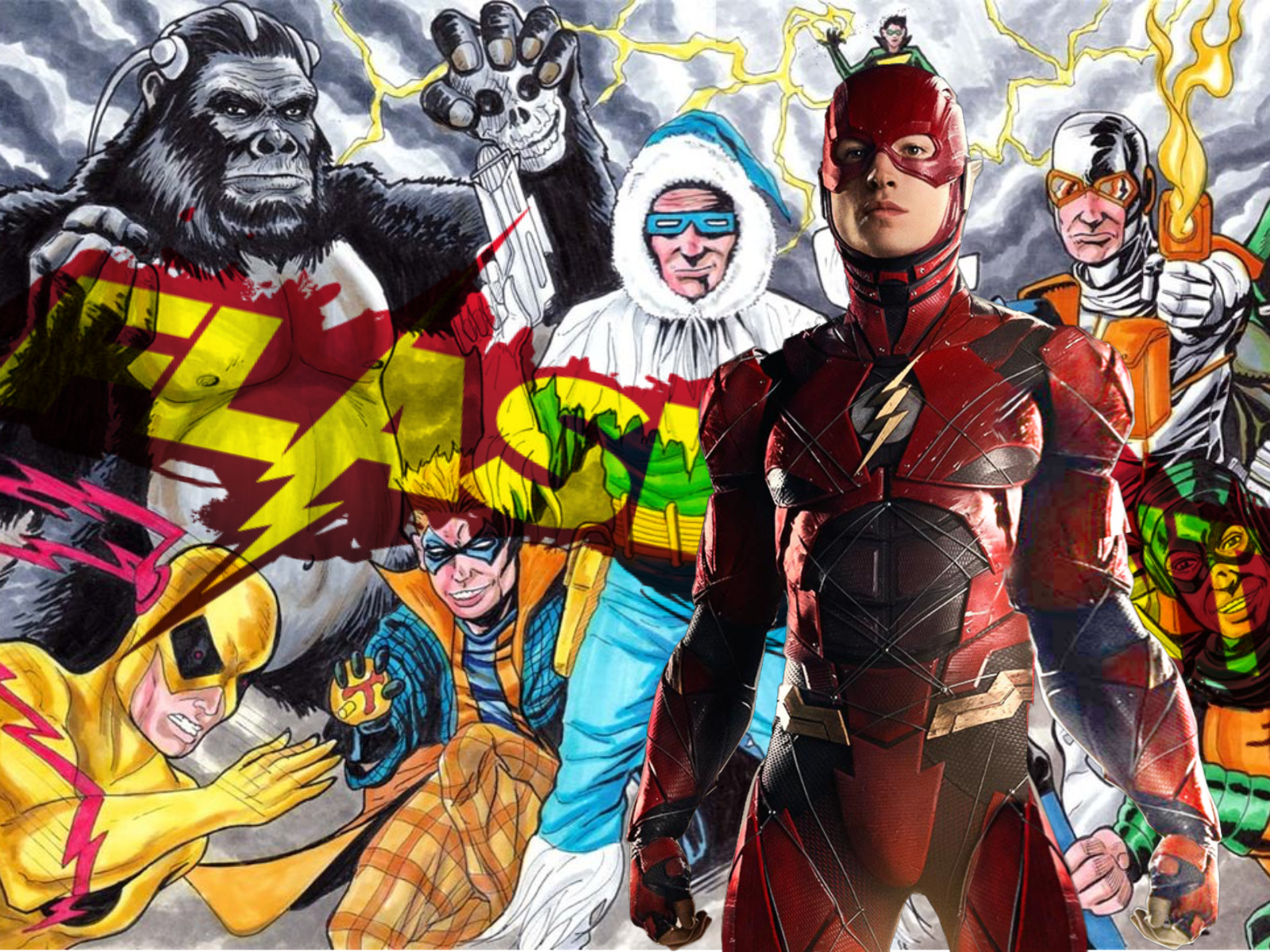 Rumored 'Flashpoint' Villains and Production Timeline