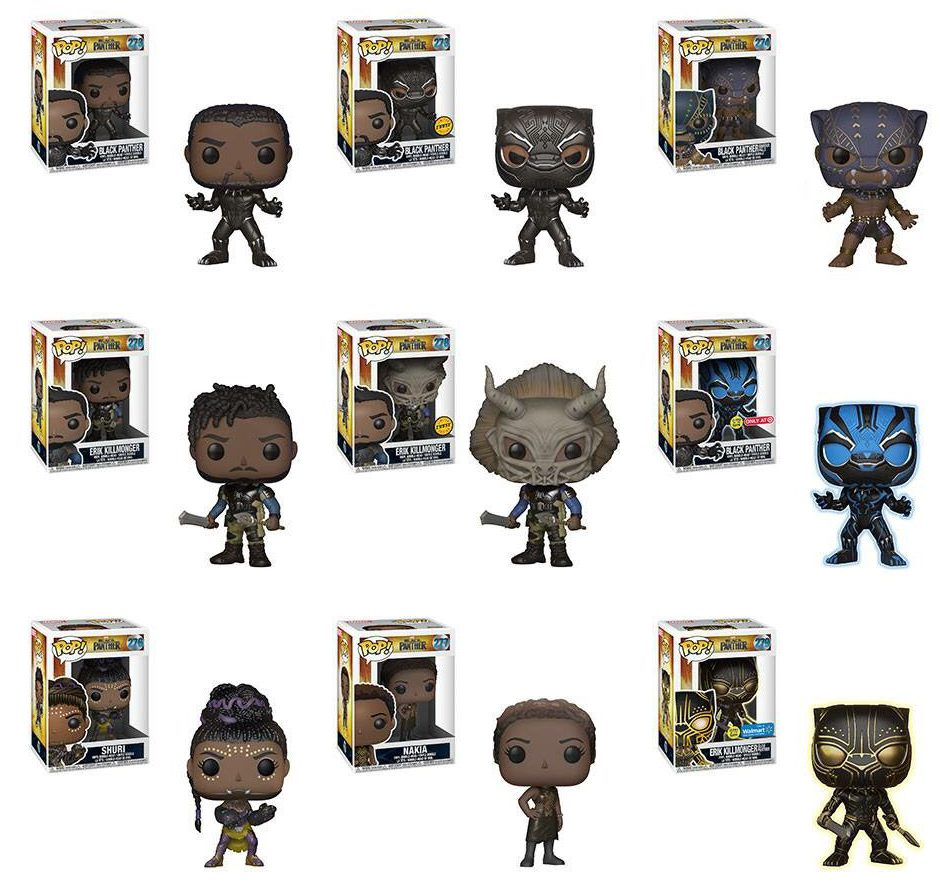 3990d55c Black Panther' Funko Giveaway - FandomWire