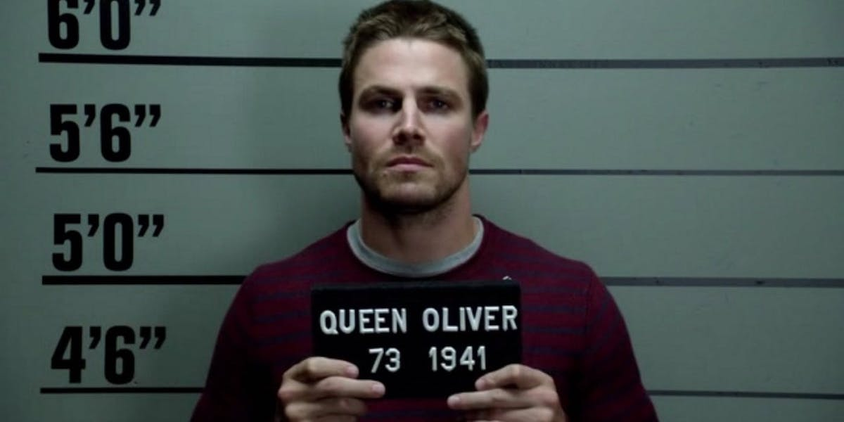 Arrow Oliver Mug Shot