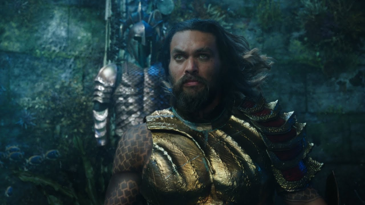 First 'Aquaman' Trailer Revealed At Comic-Con