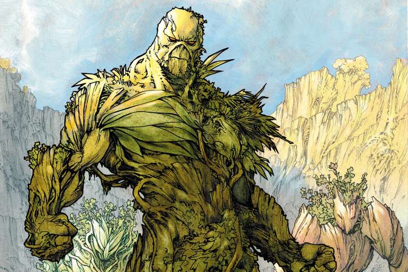 As revealed at San Diego Comic-Con, Swamp Thing' will be separate from the continuity of shows like Titans and Doom Patrol.