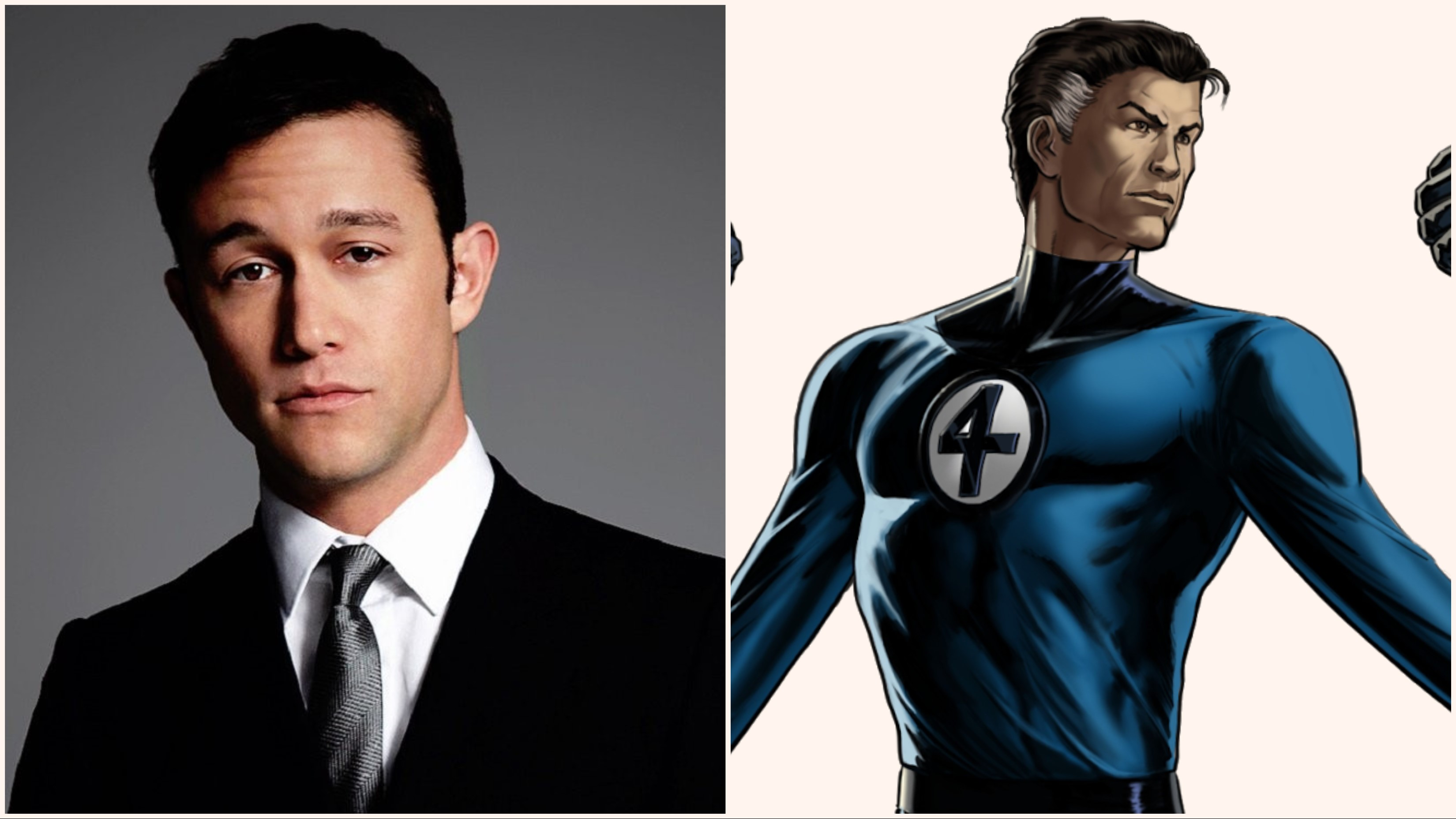 JOSEPH GORDON-LEVITT AS REED RICHARDS/MISTER FANTASTIC