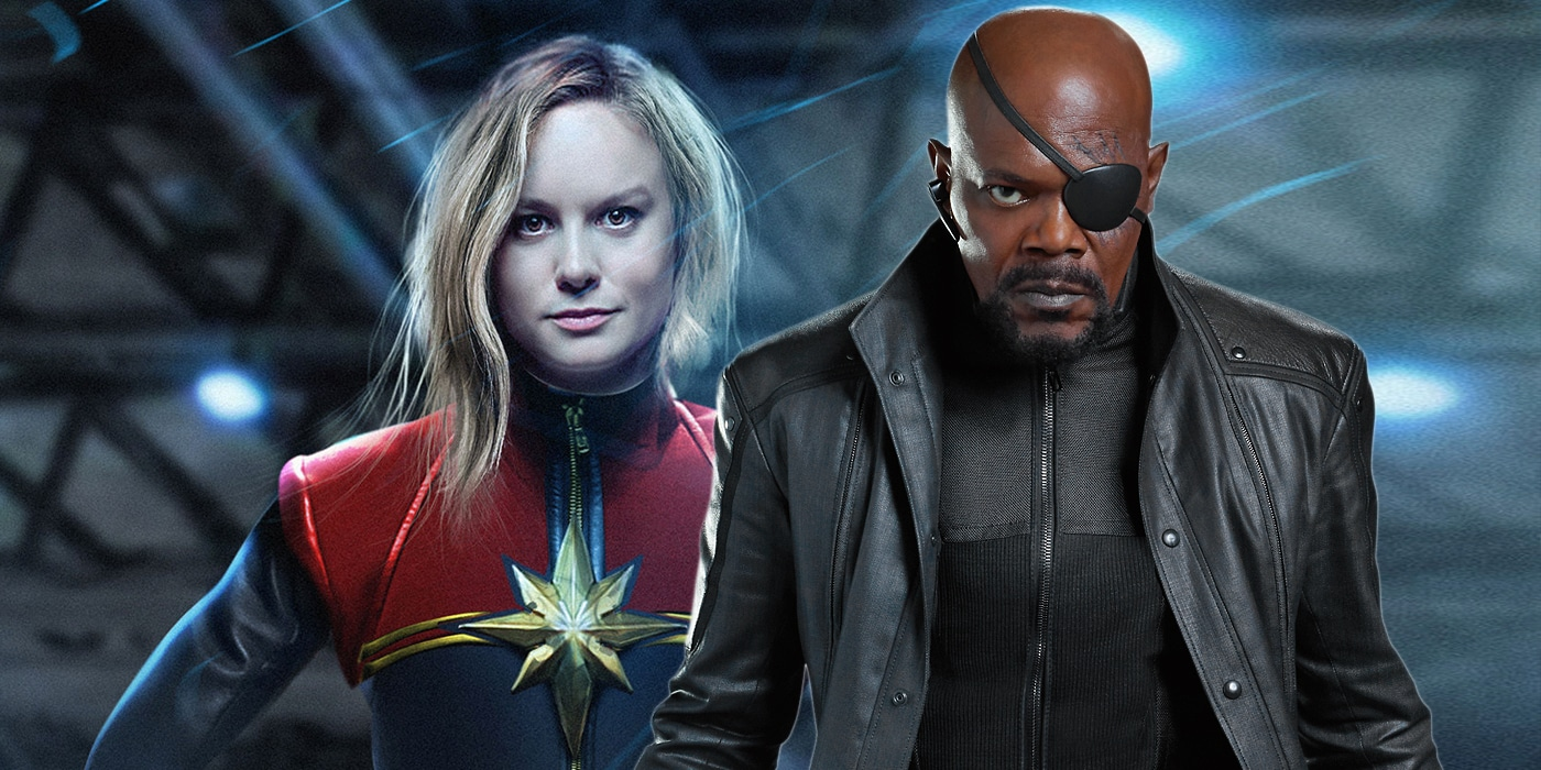 Samuel L. Jackson, portraying a younger Nick Fury, comments on how the upcoming Captain Marvel film will change and impact his character.