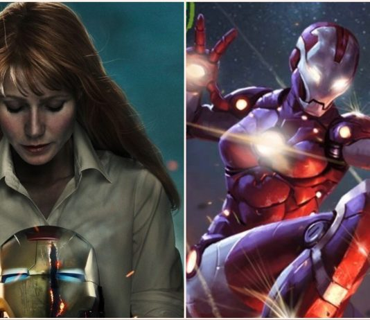 Gwyneth Paltrow's 'Avengers 4' Rescue Armor Revealed