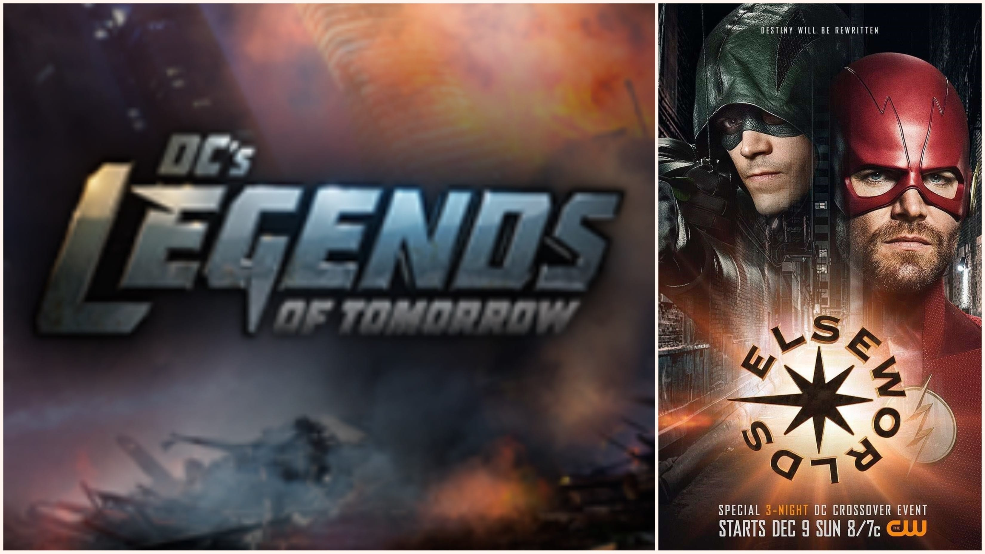 "The Legends of Tomorrow may not be sitting out completely from this year's Arrowverse crossover.as the three-night crossover event in hour ""3"" of the event."