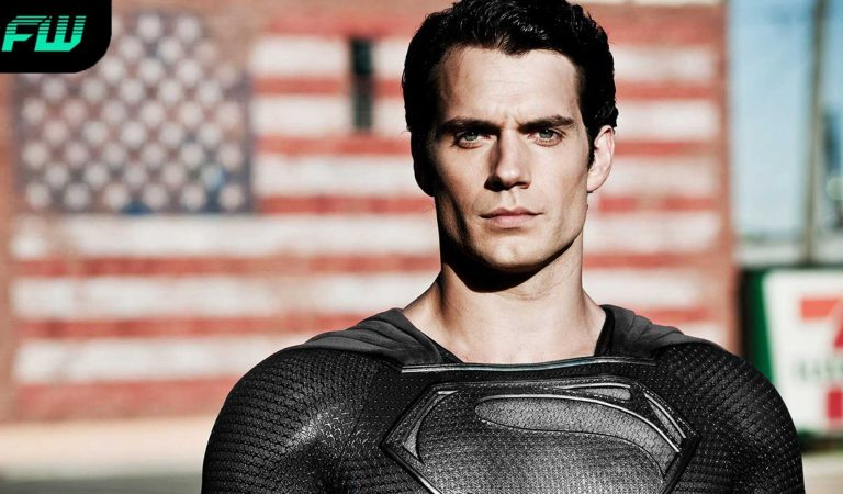 Zack Snyder Reveals Cavill's Superman In The Black Suit