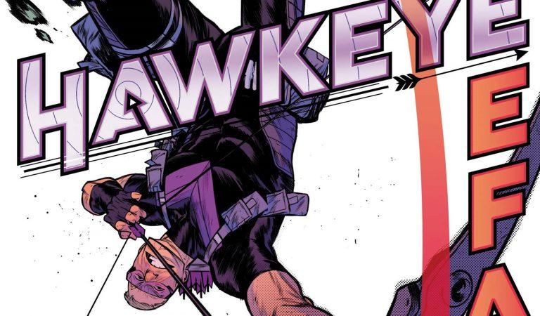 New Ronin Costume Debuts In Hawkeye: Freefall Series