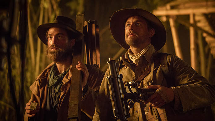 Robert Pattinson and Charlie Hunnam in The Lost City of Z (2016)