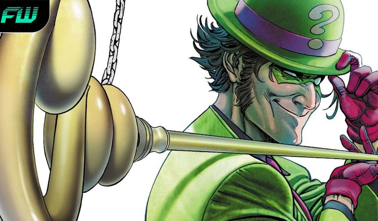 The Batman Leaked Image Suggests Riddler Victim