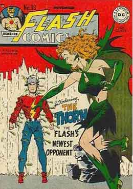DC Flash and Rose and Thorn
