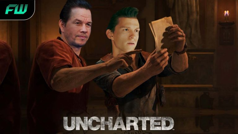 Tom Holland and Mark Wahlberg in Sony's Uncharted movie