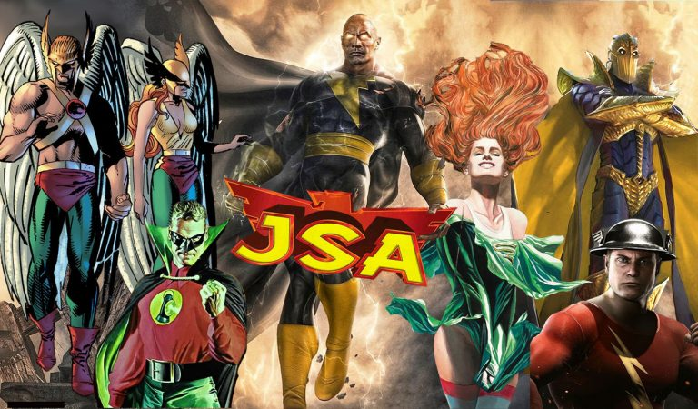 EXCLUSIVE: DC's Black Adam To Feature Epic JSA Battles With These Superheroes