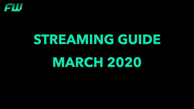Streaming Guide March