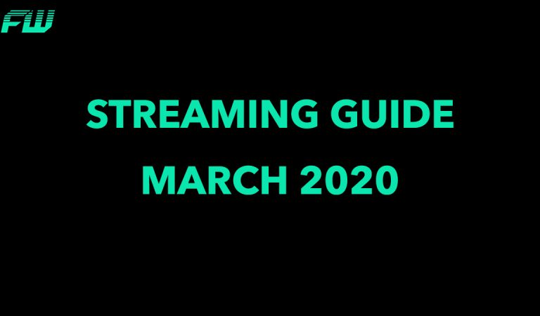 FandomWire Streaming Guide For March