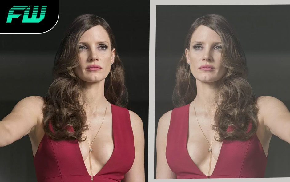 Jessica Chastain as Mirror Master in The Flash