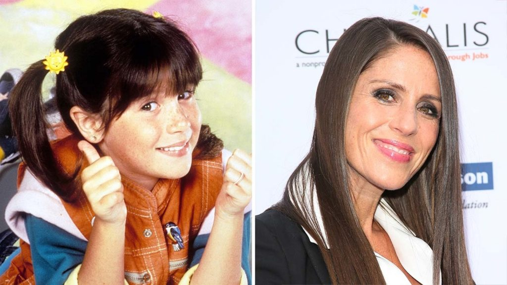 The young and adult Punky in Punky Brewster
