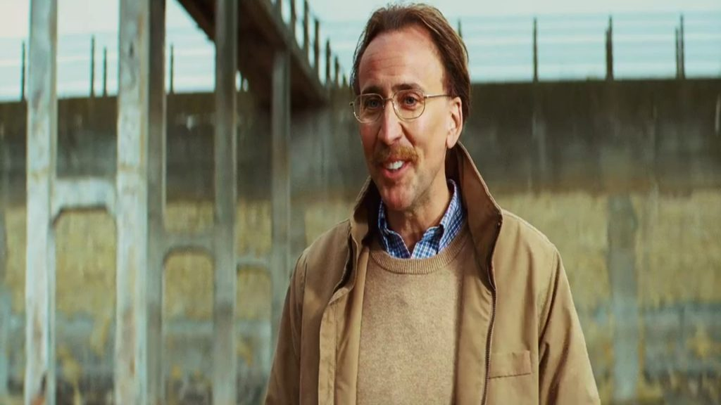 Nicolas Cage was later signed for the role