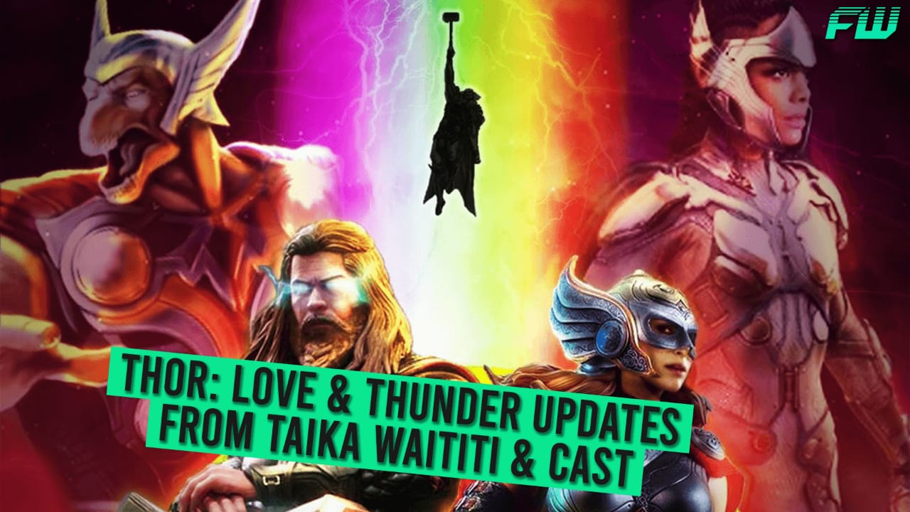 Thor: Love & Thunder Updates from Taika Waititi & Cast