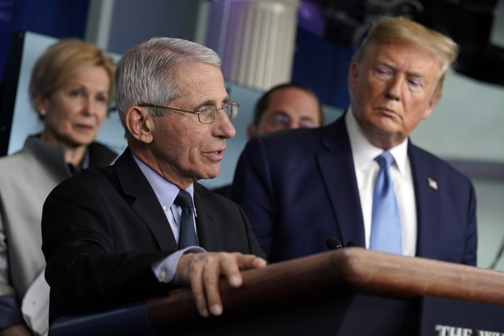 Dr. Anthony Fauci's interest in being portrayed