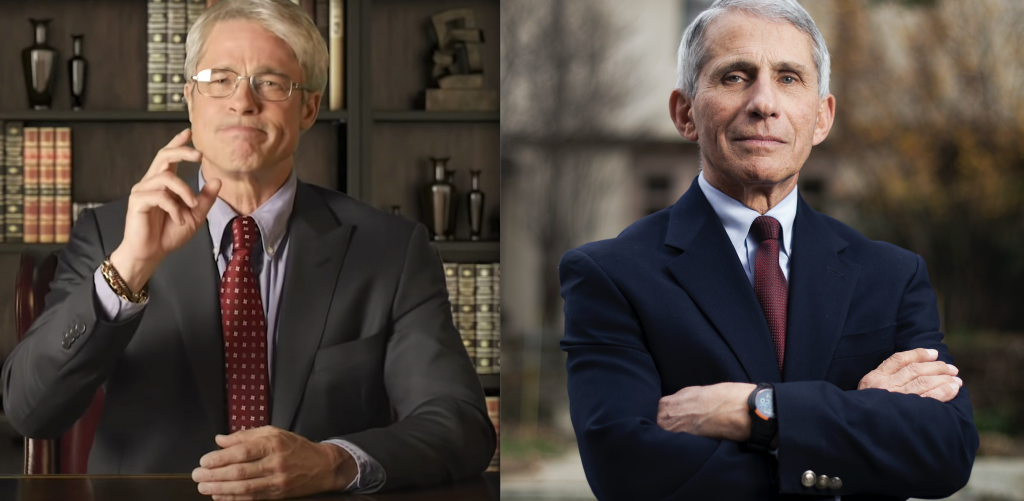 """SNL At Home"" Surprised Dr. Anthony Fauci."