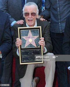 Stan Lee at The Hollywood Walk of Fame