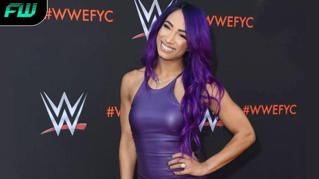 WWE wrestler Sasha Banks