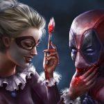 DC Marvel Battle in Art