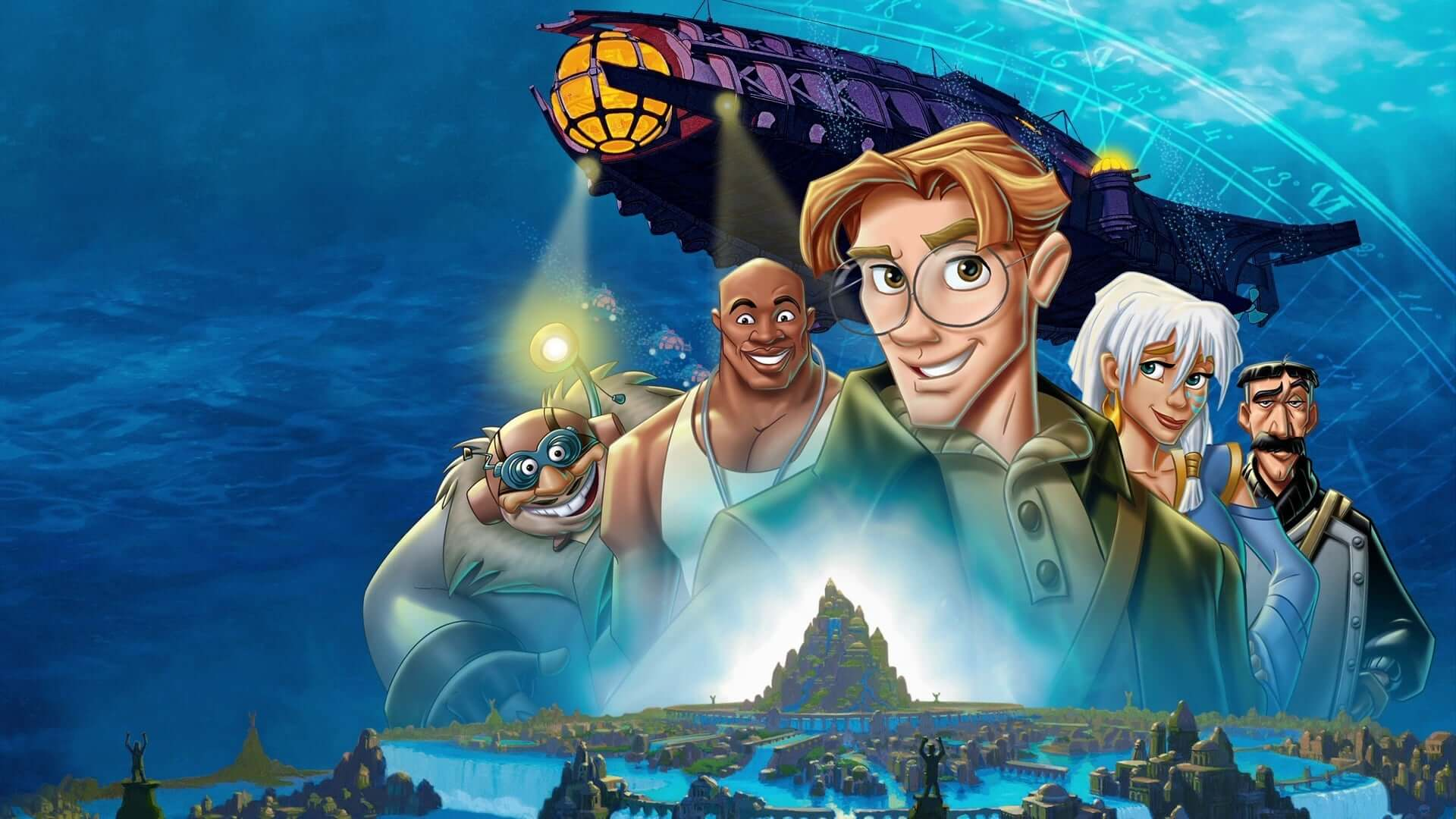 The Disney Atlantis sequel