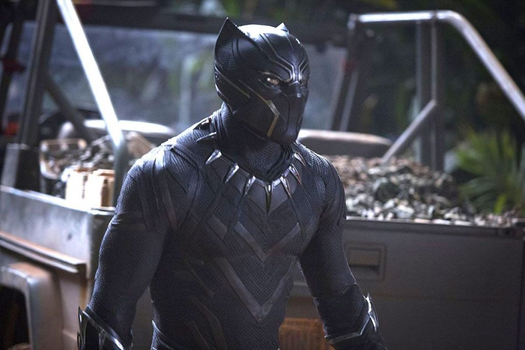 Black Panther in Action