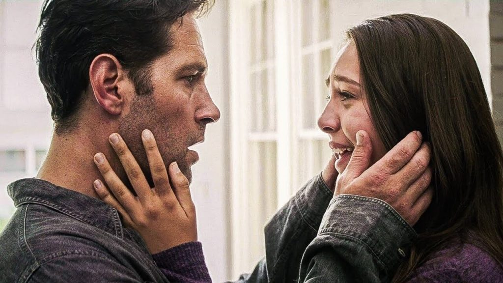 Scott Lang with Cassie Lang in a scene.