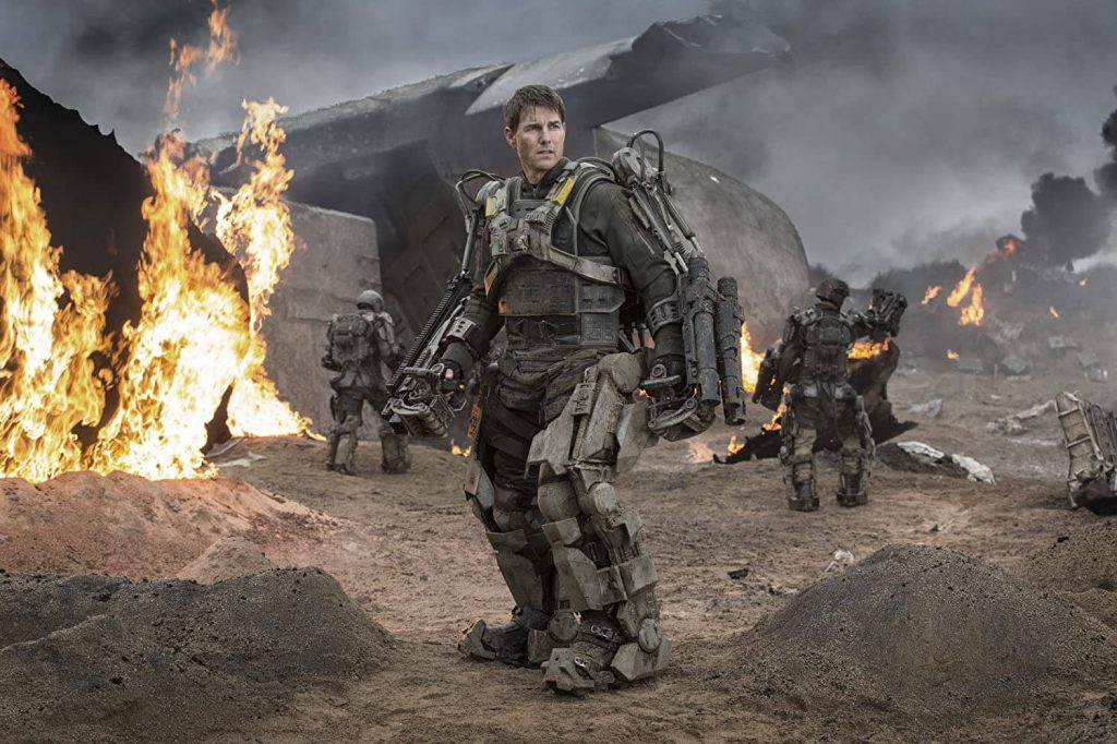 Time travel action thriller Edge of Tomorrow (2014)