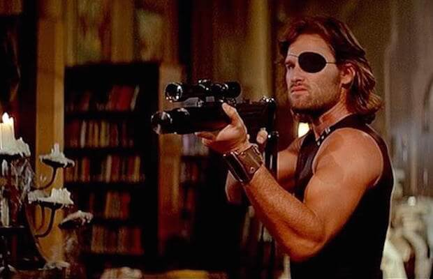 Snake Plissken's eye patch is one of the great choices suggested by actors