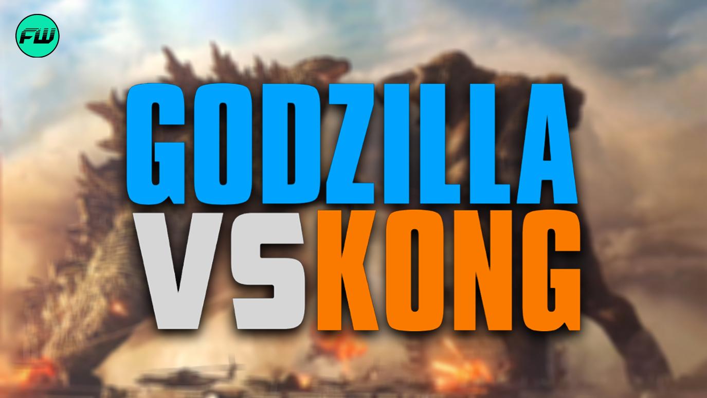 First Look At Godzilla vs Kong Fight & New Logo Revealed