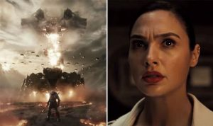 Terrified Diana in Snyder Cut Teaser