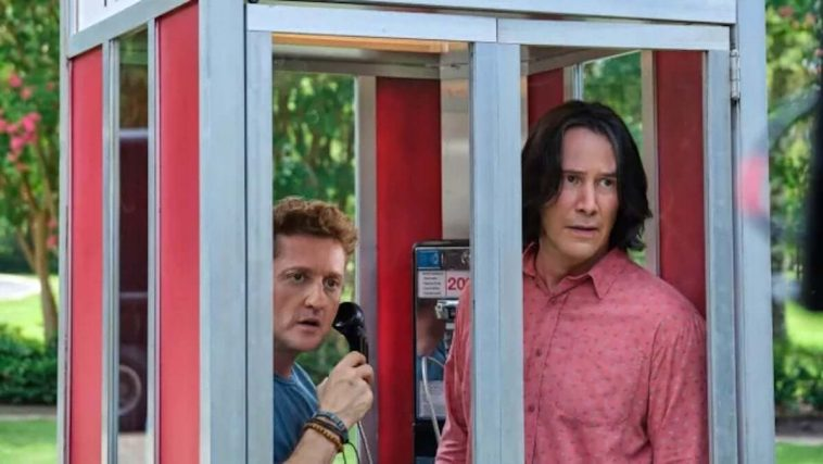 Bill (Alex Winter) and Ted (Keanu Reeves)