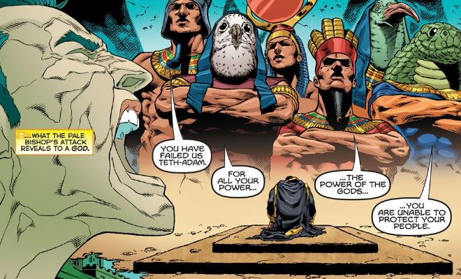 Black Adam and his Egyptian Gods