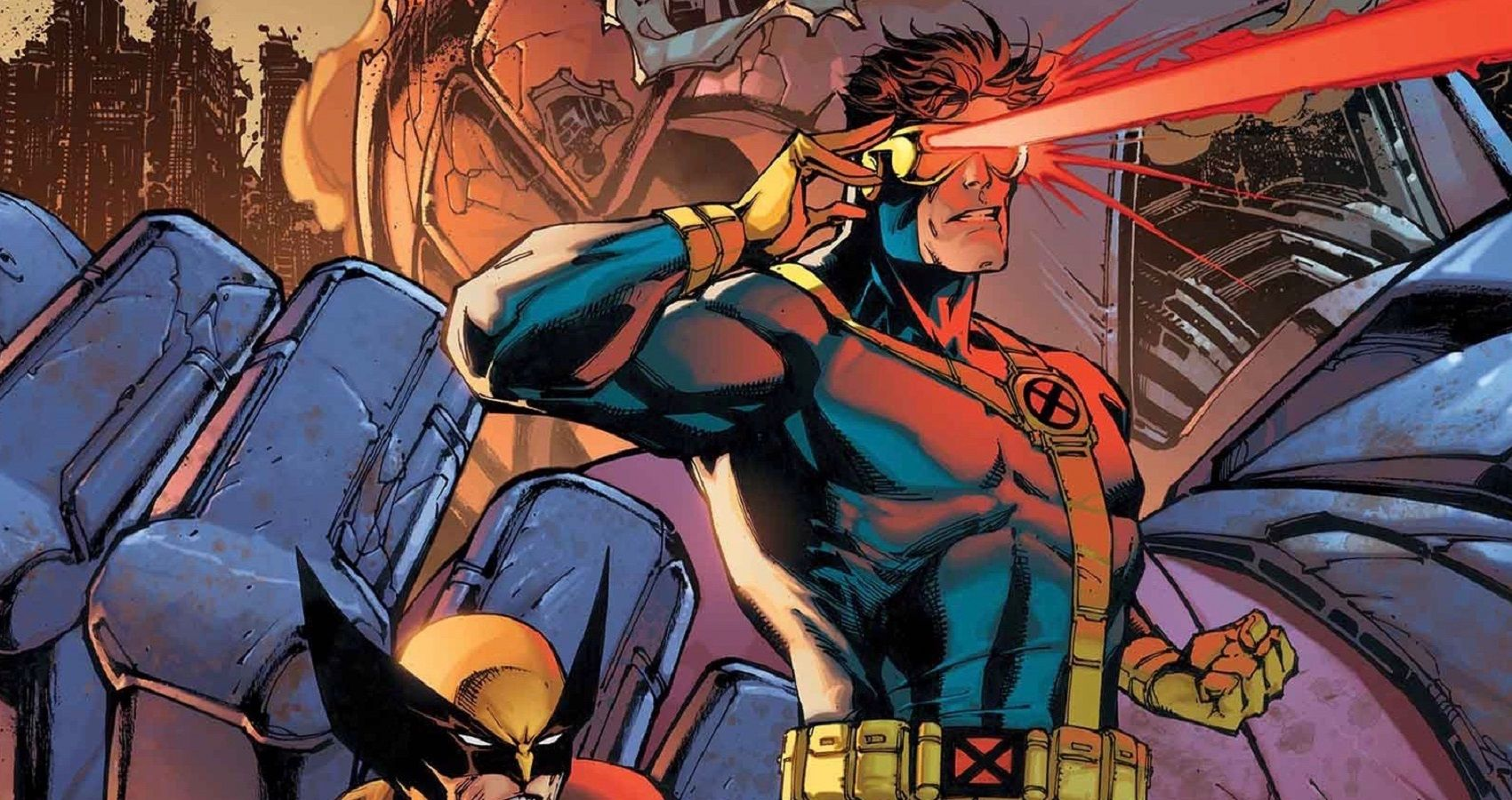 Cyclops Using Optic Blasts