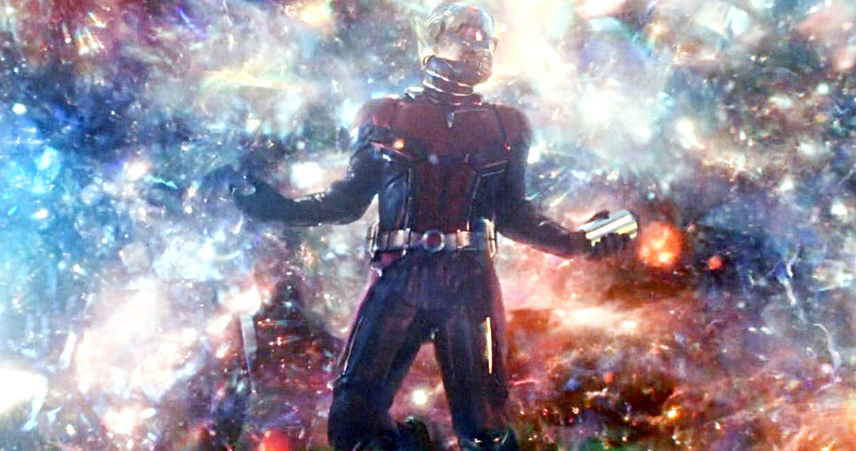Scott Lang in the Quantum Realm
