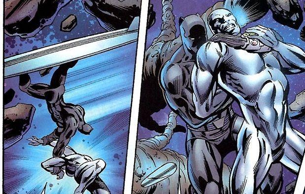 black panther vs silver surfer