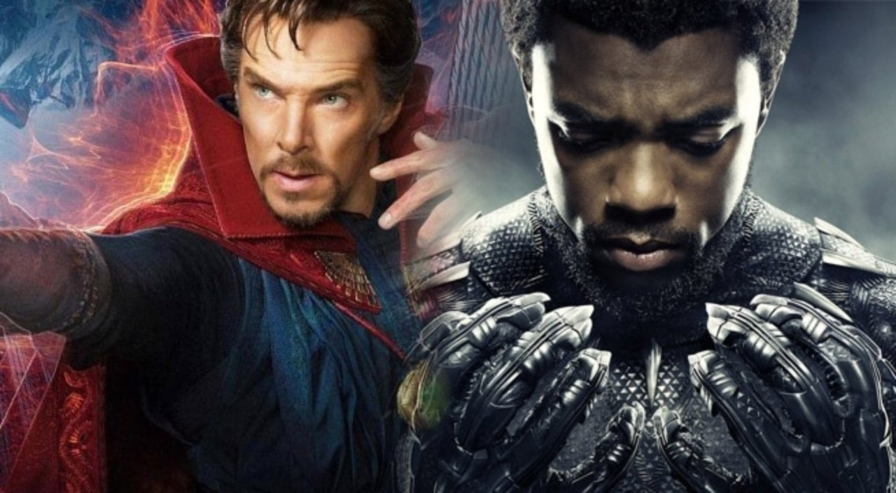 Black Panther and Doctor Strange