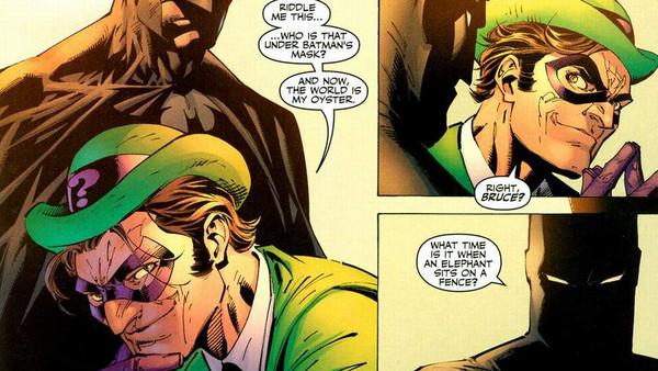hush the riddler comic book