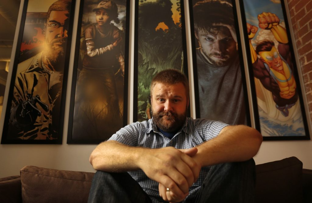 invincible behind the camera robert kirkman