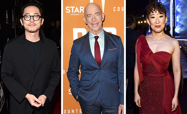 invincible cast steven yeun jk simmons sandra oh