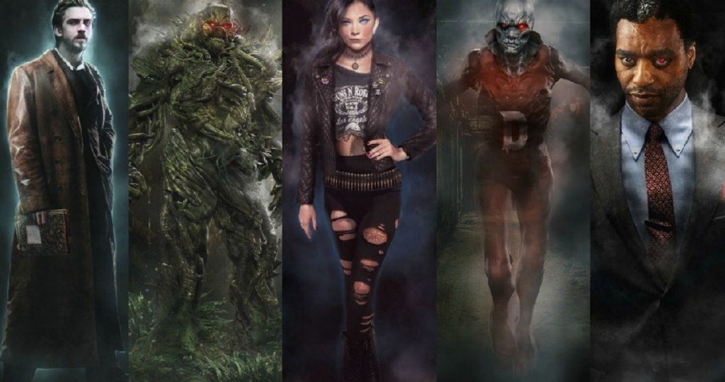justice league dark movie characters zatanna swamp thing deadman spectre
