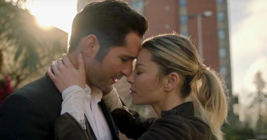 Lucifer Season 5 Chloe Kissing Lucifer
