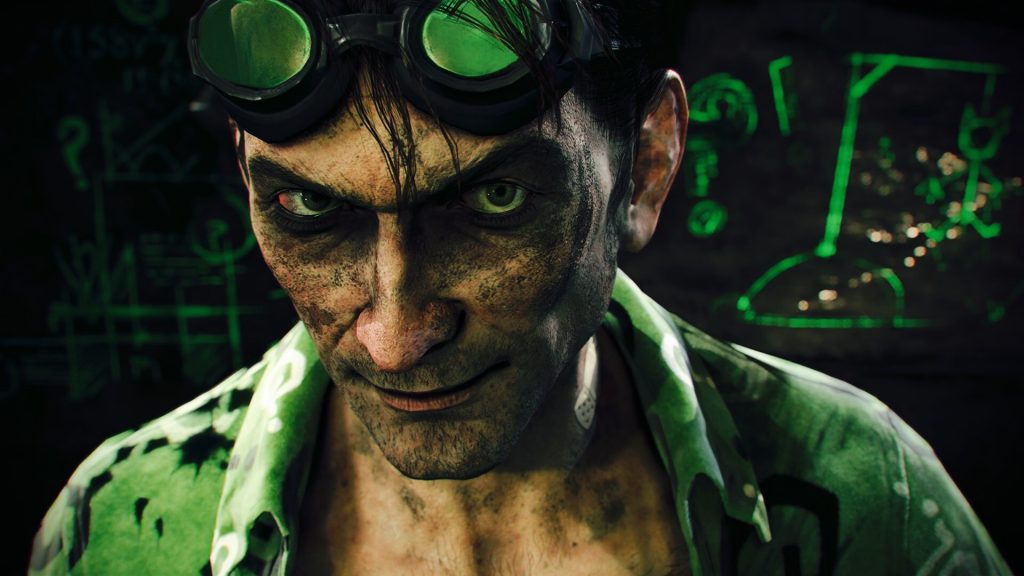 riddler batman arkham