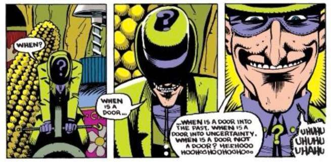 riddler when is a door