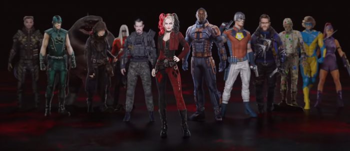 the suicide squad full cast