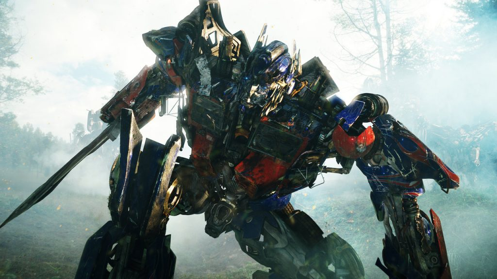 Highest Grossing Action Movies Revenge of the fallen Optimus Prime