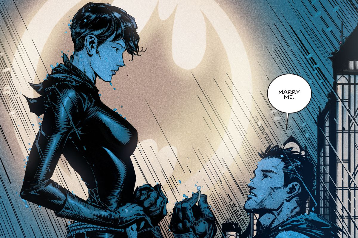 Batman and Selina